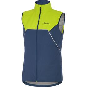 GORE WEAR R7 Partial Gore-Tex Infinium - Gilet running Femme - vert/bleu
